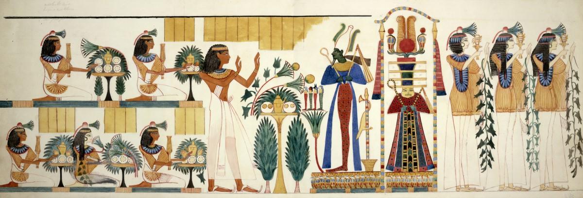 Papirus z Egiptu o ziołolecznictwie